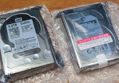HDD  2台