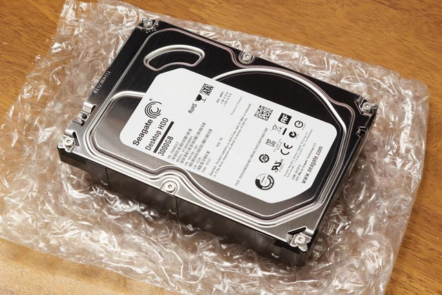 内蔵HDD