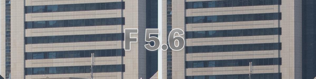 center F5.6