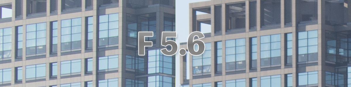 corner F5.6