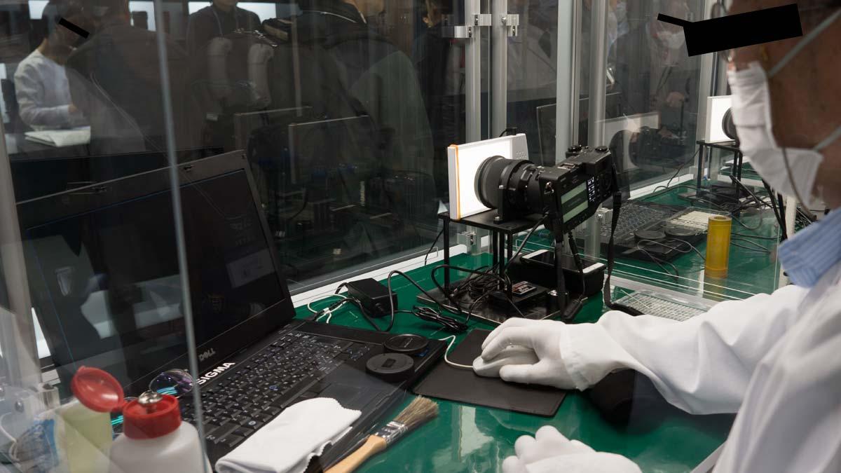 sigma sensor cleaning