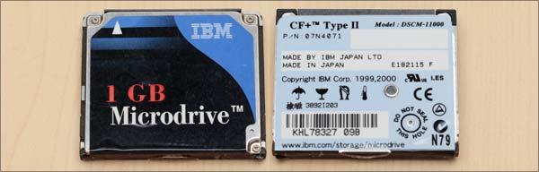 マイクロドライブ1GB