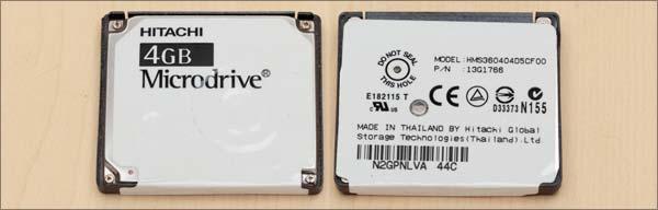 マイクロドライブ4GB