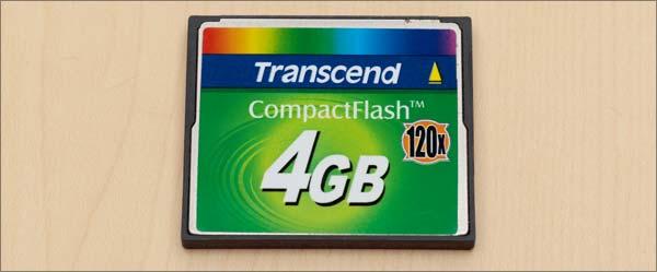 トランセンド4GB