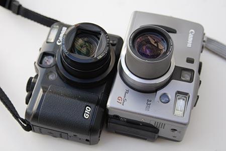 PowerShot G1&G10