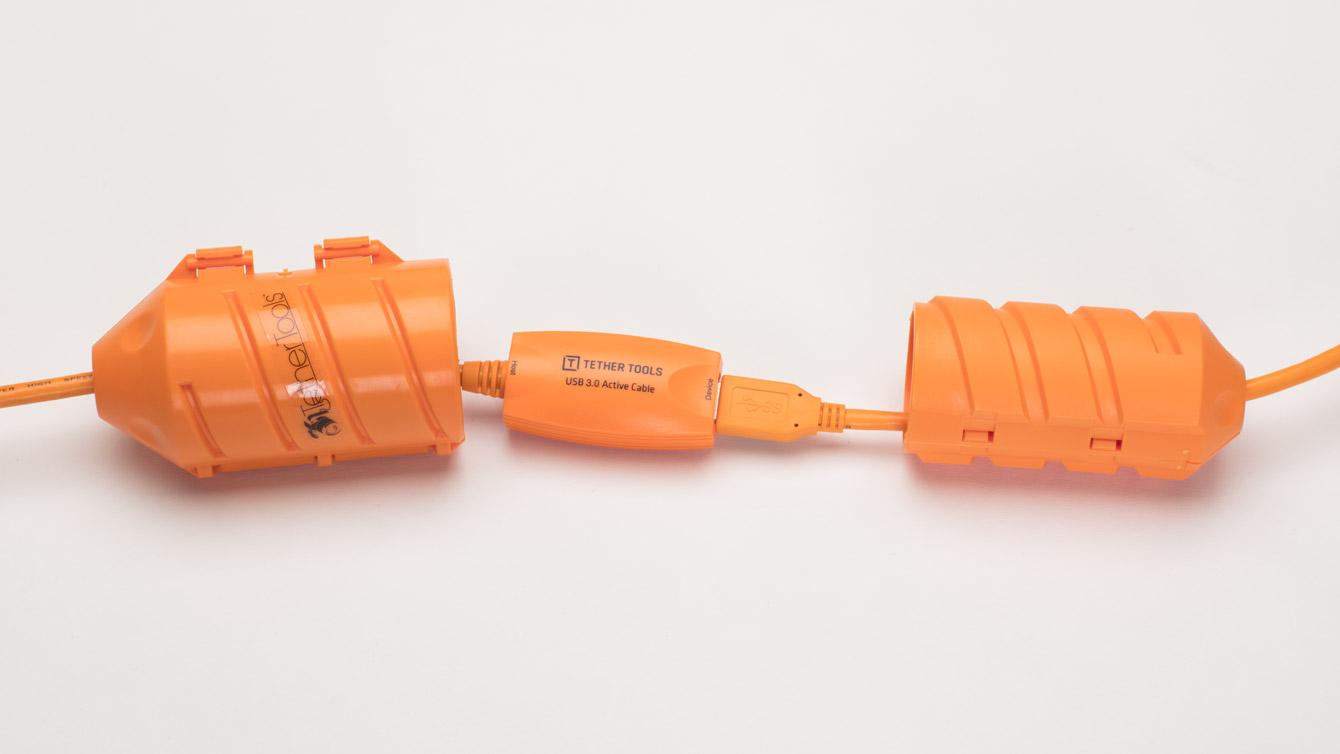 ケーブル接続部のプロテクター